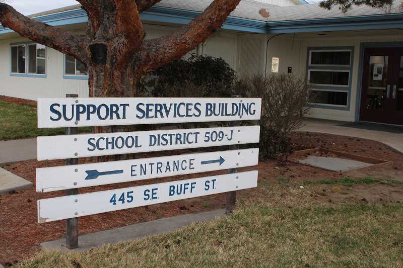 HOLLY M. GILL - The School District 509-J Board of Directors passed the district's budget, issued a press release on a principal's resignation, and discussed fewer meetings at its May 15 meeting.
