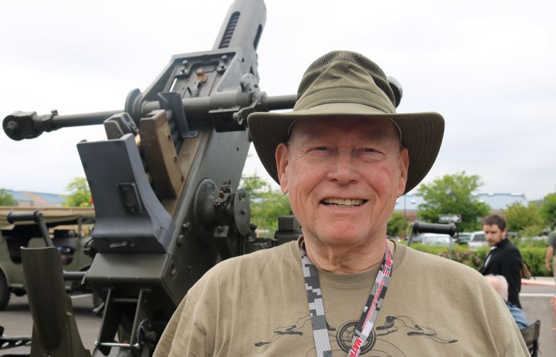 REVIEW PHOTO: ZANE SPARLING - Ricky Rozzell is a veteran of the Vietnam War, Operation Desert Storm and spent 37 years with the Oregon National Guard.