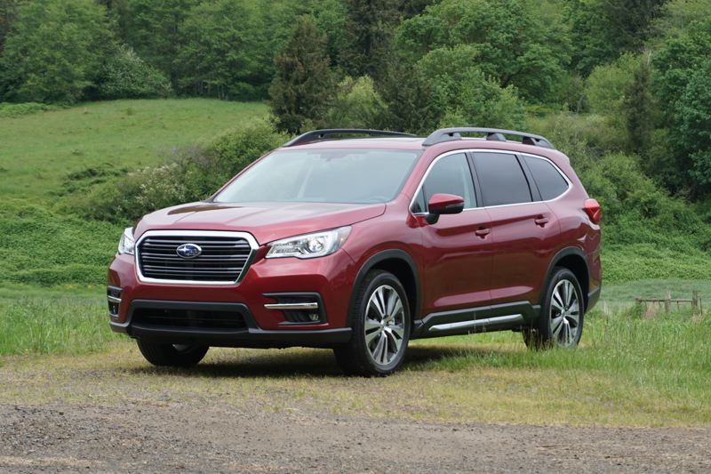 PORTLAND TRIBUNE: JEFF ZURSCHEIDE - The 2019 Ascent is the largest vehicle Subaru has ever made. It was designed for the American market and is ideal for Pacific Northwest families.