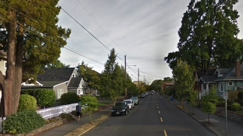 COURTESY GOOGLE MAPS - The 4800 block of Northeast 15th Avenue is shown in this screenshot taken from Google Maps.