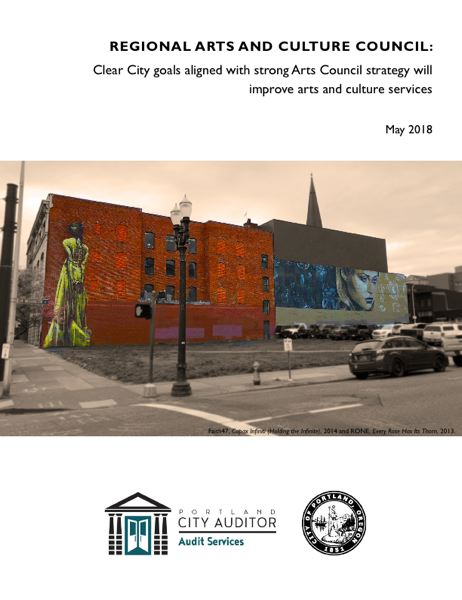 CITY OF PORTLAND - The City Auditor's Office released this repoert Tuesday.