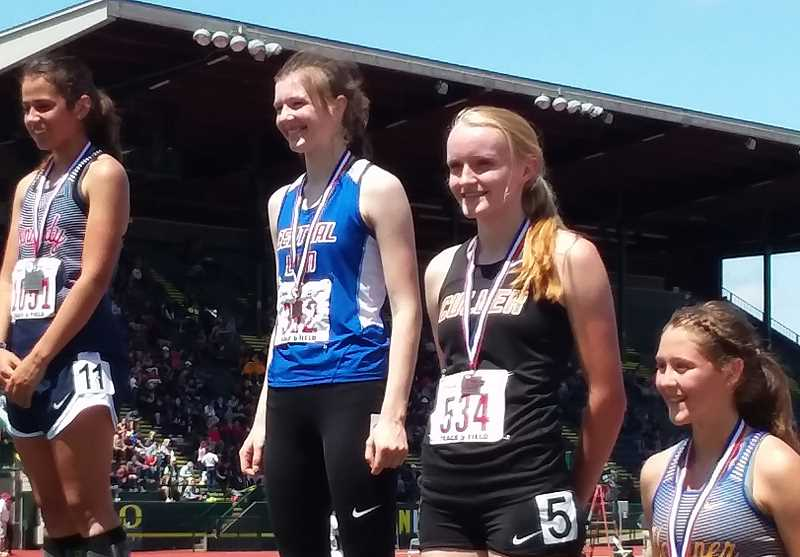 SUBMITTED PHOTO - Emma Knepp placed sixth in both the 1,500 and 3,000-meter runs at state.