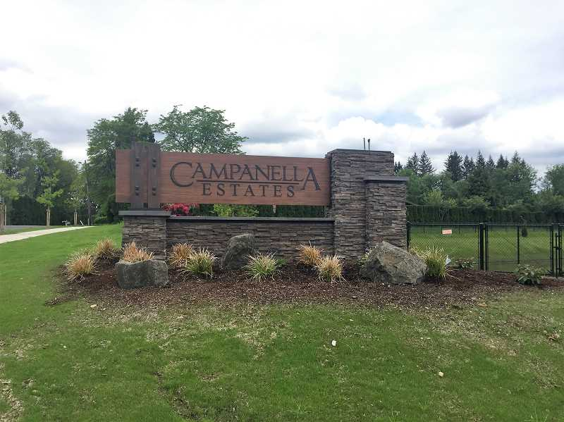 ESTACADA NEWS PHOTO: EMILY LINDSTRAND - The Campanella Estates housing development near Southeast Eagle Creek Road and Northwest Tenth Avenue will feature 316 homes built over the next decade.