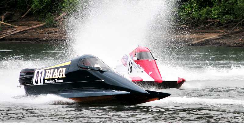 GRAPHIC FILE PHOTO - All manner of boats will play the Willamette River this weekend during the annual boat races.