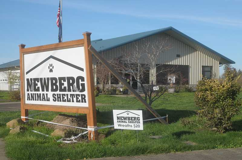 GRAPHIC FILE PHOTO - Newberg Animal Shelter Friends' effort to purchase the building from the city of Newberg is slowly continuing, board member Rick Lapinski told the Newberg City Council on May 7, with the advent of a new development that could delay the negotiations even further.