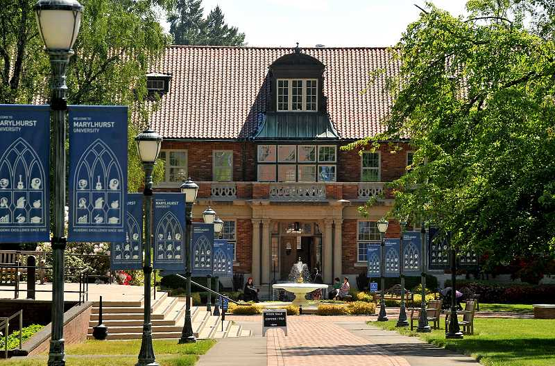 REVIEW PHOTO: VERN UYETAKE - Marylhurst University announced last week that it will cease all operations by the end of 2018.