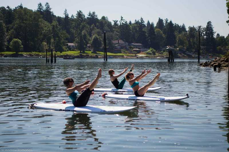 SUBMITTED PHOTO  - Learn how to properly manuever kayaks, canoes and stand-up paddleboards this summer with Alder Creek Kayak. Lake Oswego Parks and Rec is offering classes and rentals through the company.