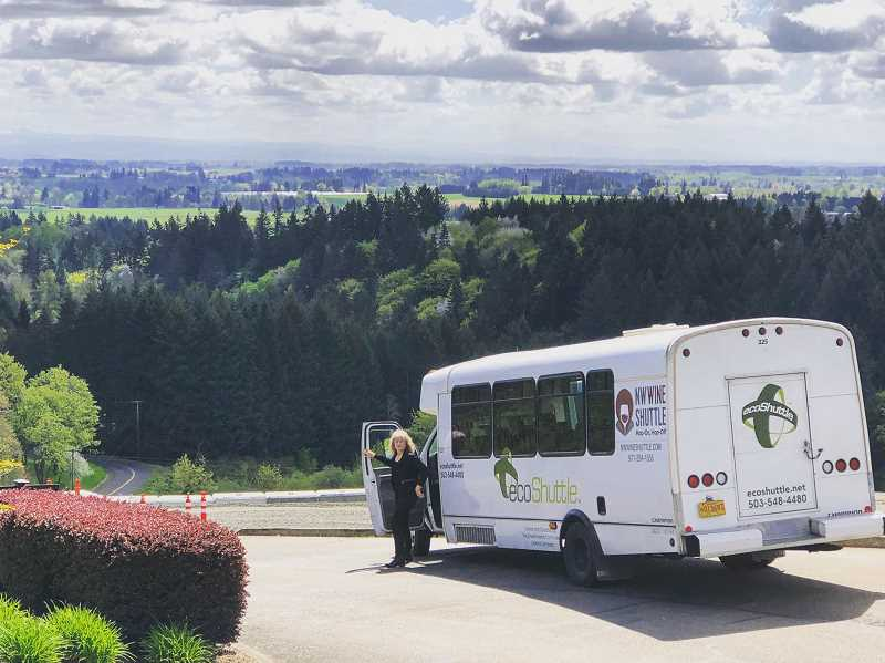 SUBMITTED PHOTO  - NW Wine Shuttle is the regions first hop-on, hop-off wine tasting experience. From your computer or mobile phone you can plan a day in the wine country. Cost is $69.99 per person.
