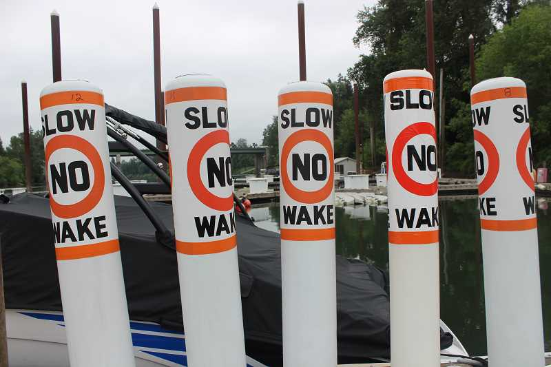 Oregon River Safety Preservation Alliance had placed 31 buoys along the Willamette River in mid-May.