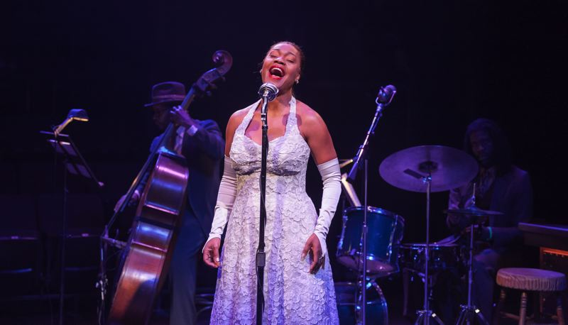 COURTESY: KATE SZROM - Deidrie Henry plays Billie Holiday in 'Lady Day at Emerson's Bar and Grill,' which opens with previews at The Armory on Saturday, May 26.