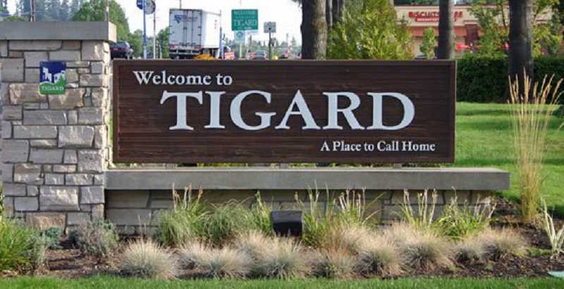 COURTESY CITY OF TIGARD - Numerous citizens testified Monday night in front of the the Tigard Budget Committee, hoping to ensure their programs -- many related to police services -- weren't cut.