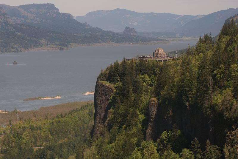 FILE PHOTO - Crown Point sits 700 feet above the Columbia River and was once a vision quest site, where local Native American youths spent three days awaiting a message from the Creator to direct their life.
