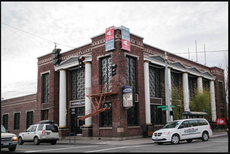 SUBMITTED: VERSATILE - Six of the grand window sashes at the Hawthorne Theater were so badly deteriorated that they had to be completely removed and repaired or replaced.