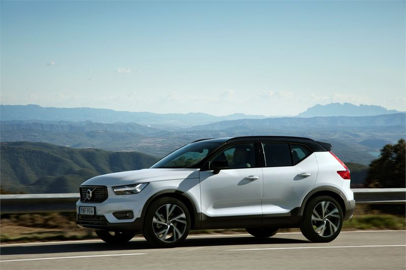 VOLVO CAR GROUP - The 2019 Volvo XC40 T5 AWD R-Design is a sharp looking performance luxury subcompact crossover that competes well against the best of them.