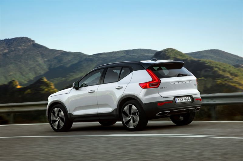 VOLVO CAR GROUP - The 2019 XC40 is designed to create an impression from all angles.