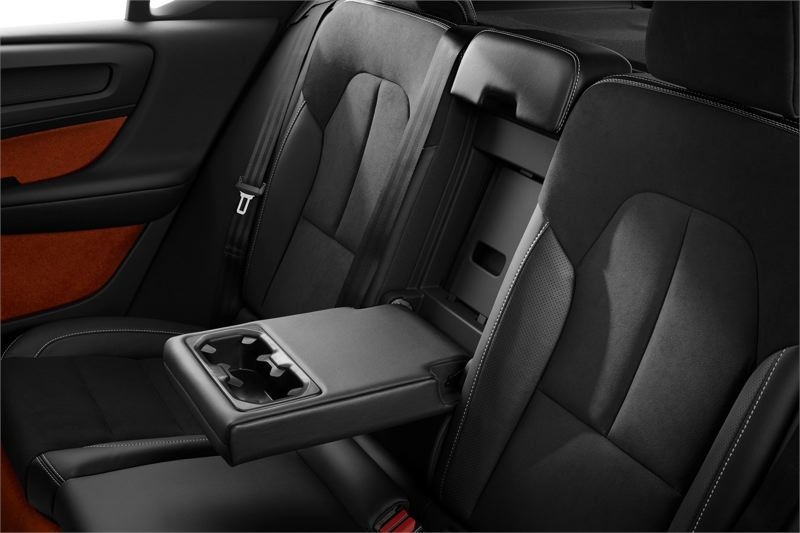 VOLVO CAR GROUP - Rear seat passengers travel in comfort and style.