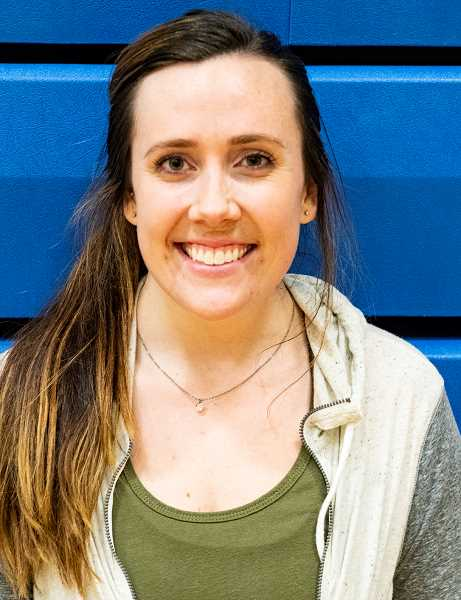 LON AUSTIN/CENTRAL OREGONIAN - Baylee Dunkel is the new Crook County High School head volleyball coach. Dunkel currently lives in Redmond but works at Slater Chiropractic in Prineville.