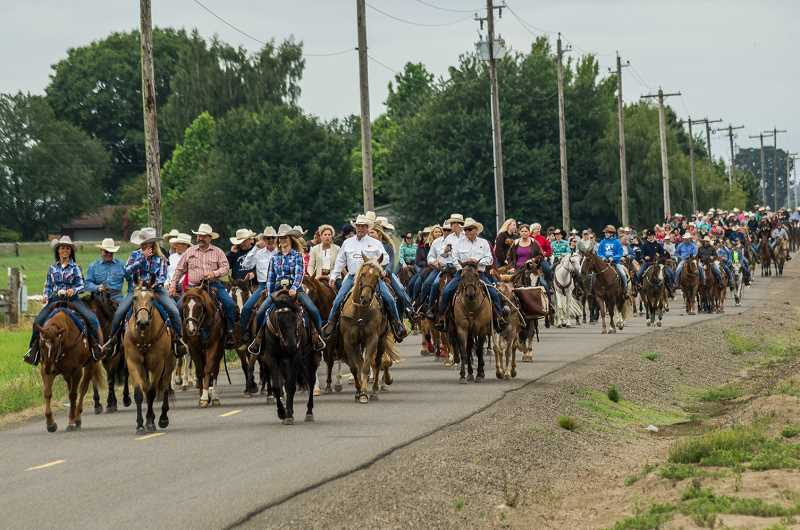 COURTESY PHOTO - The trail ride is at 10 a.m. June 4.