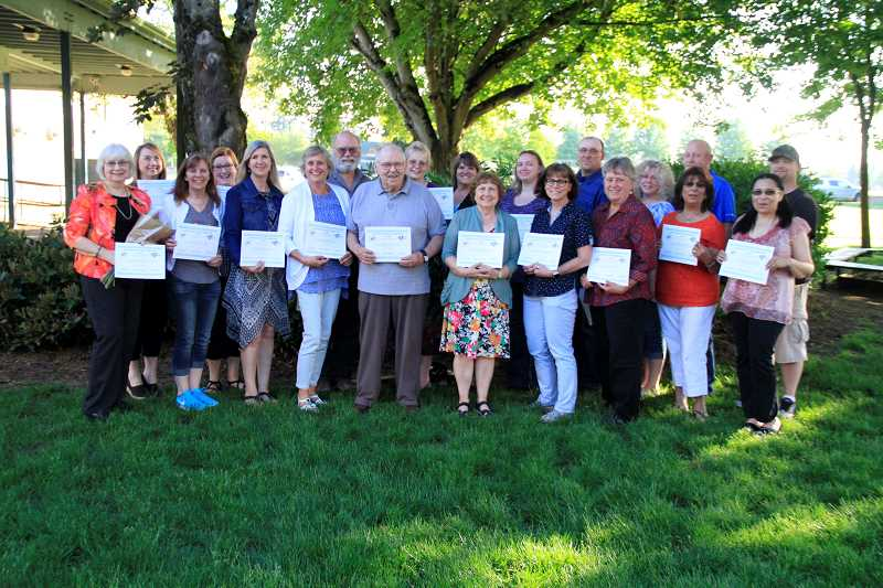 COURTESY PHOTO: SARA BAILEY - The first-ever North Marion Community Recognition Night was held May 21 and celebrated community volunteers, parents and retiring staff.