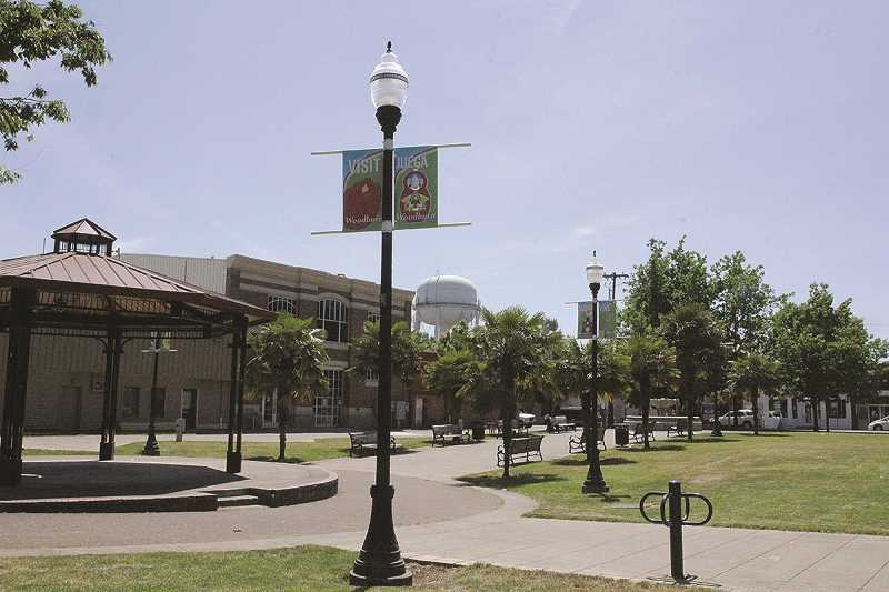 LINDSAY KEEFER - The Downtown Plaza is ready for Taste of Woodburn.