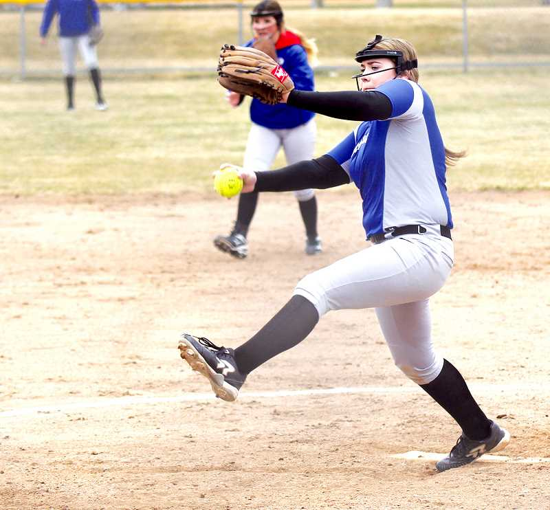 STEELE HAUGEN - Lizzie Steuart earns Tri-Valley Conference first team all pitcher.