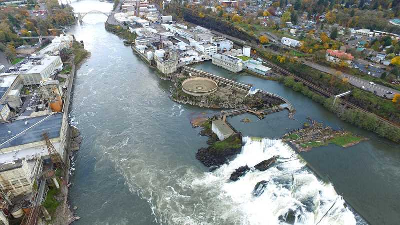 TIDINGS FILE PHOTO - The coalition sees near endless possibilities for the Willamette Falls area if it is designated as a National Heritage Area, and the National Parks Service agreed after evaluating a feasibility study.