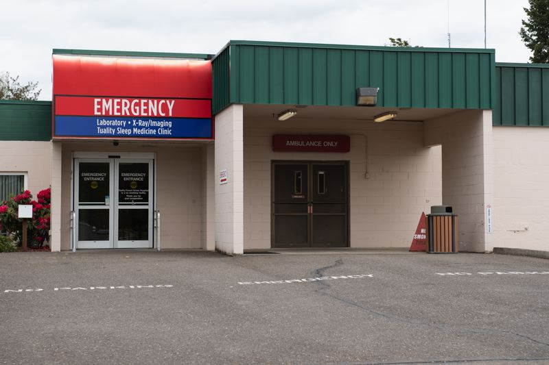STAFF PHOTO: CHRISTOPHER OERTELL - Emergency services will no longer be provided at the Tuality Forest Grove location starting in July.
