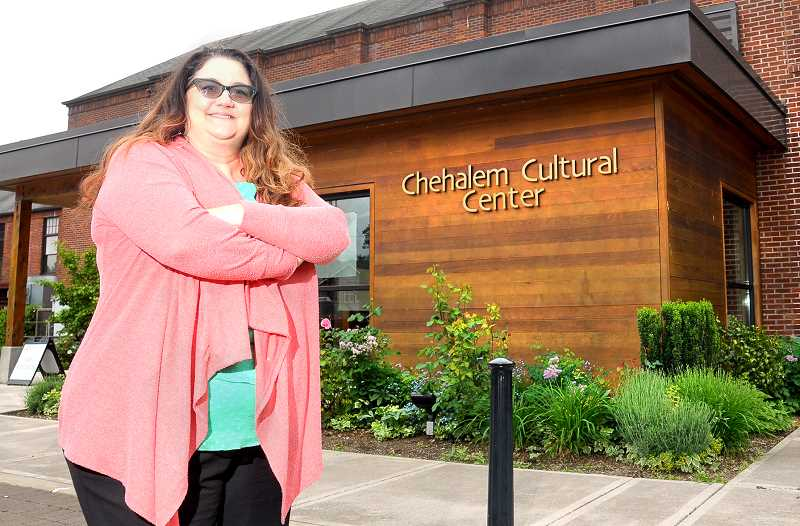 GARY ALLEN - Julie Delano was named in May to the new position of development director at the Chehalem Cultural Center.