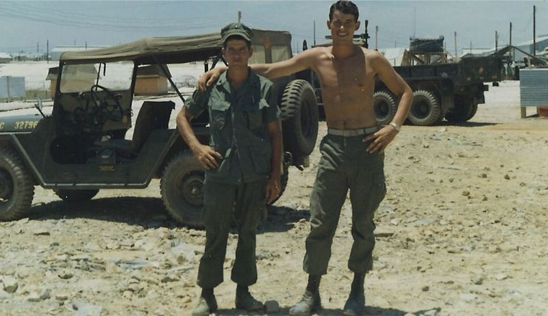 CONTRIBUTED PHOTO - The Key brothers served in combat for a total of 56 months in Vietnam.