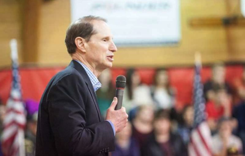 FILE PHOTO - U.S. Senator Ron Wyden, D-Oregon.