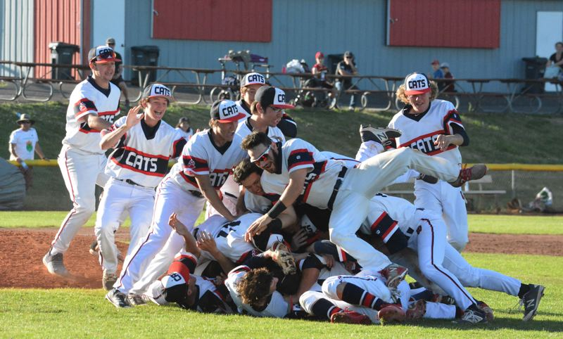 TIMES PHOTO: MATT SINGLEDECKER - The Westview baseball team beat Clackamas 8-4 on Saturday to win its first Class 6A state title since 2011.