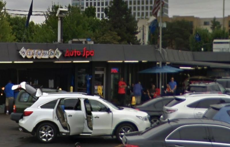 GOOGLE MAPS PHOTO - A shooting was reported at the Washman Auto Spa located at 1530 Northeast Martin Luther King Jr Boulevard in Portland.