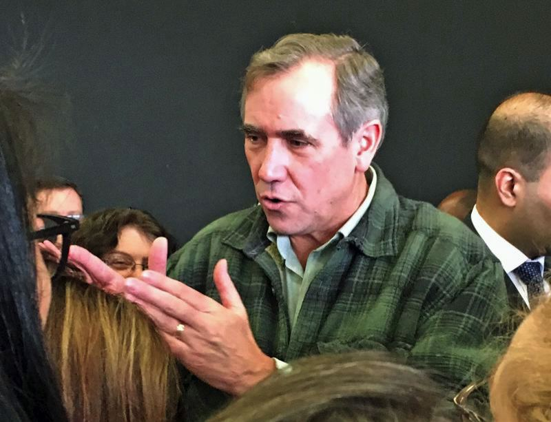 FILE PHOTO - U.S. Sen. Jeff Merkley