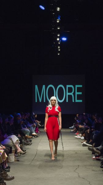 COURTESY: MOORE CUSTOM GOODS/BRENT BARNETT AT OSI PHOTOGRAPHY - Clothing from Moore Beaulieu's May 2018 show at North Warehouse. She showed her spring/summer 2018 collection which was ready for the stores.