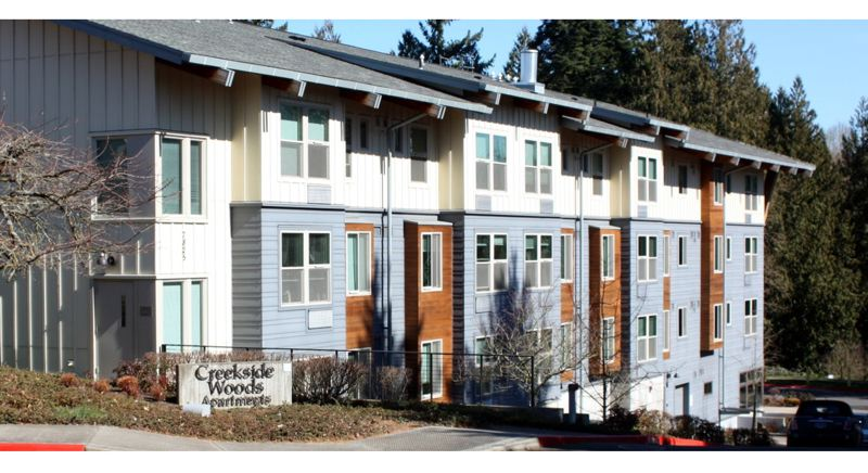 COURTESY METRO - Creekside Woods is an affordable housing complex for seniors in Tigard.