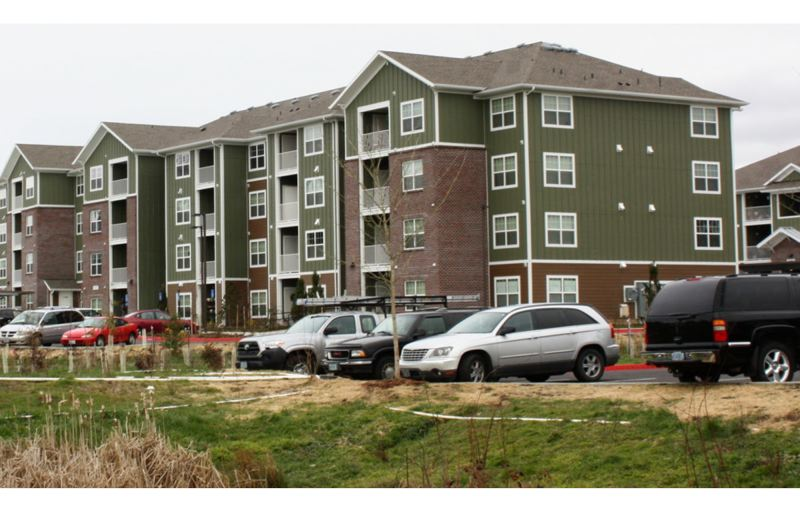 COURTESY METRO - The Sunset View Appartments in Beaverton are affordable to a diverse mix of residents.