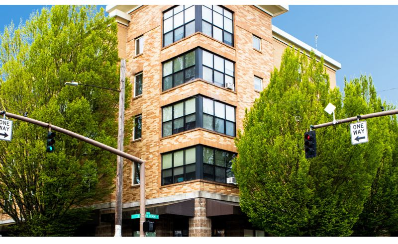COURTESY METRO - The Ritzdorf Court apartments are in Portland's Buckman's neighborhood.