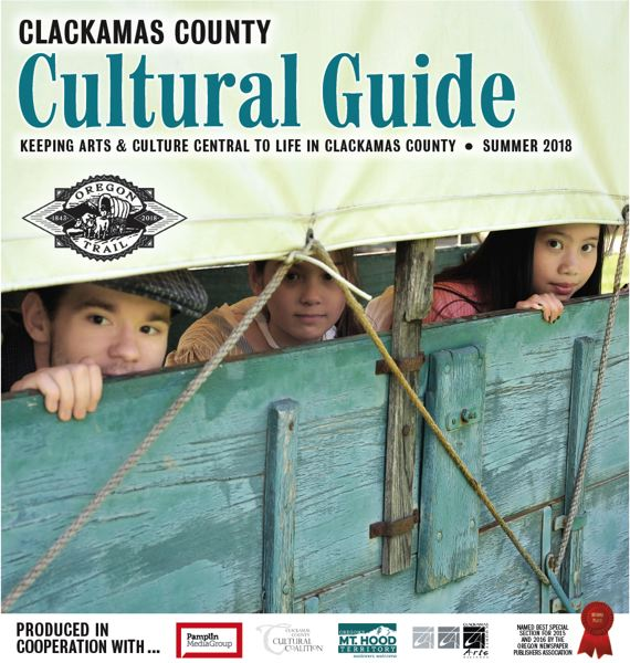 (Image is Clickable Link) Clackamas County Cultural Guide - Summer 2018