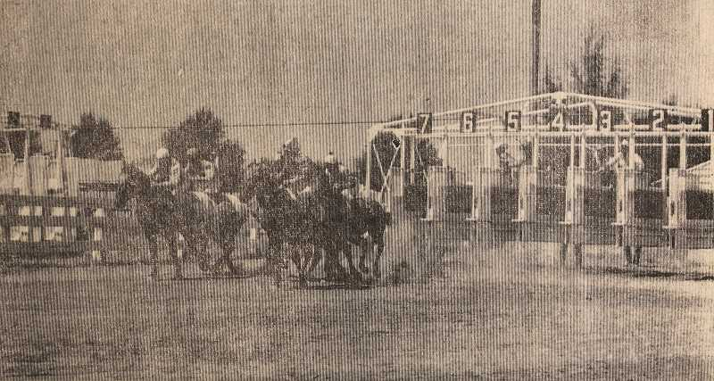 CENTRAL OREGONIAN - Horse racing was added to the Crooked River Roundup schedule in 1966 and still endures to this day.
