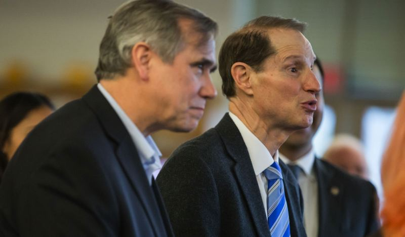 PAMPLIN MEDIA GROUP FILE PHOTO - U.S. Sens. Jeff Merkley and Ron Wyden, both Portland Democrats, said the Supreme Court ruling was another reason to pass national Equality Act legislation.