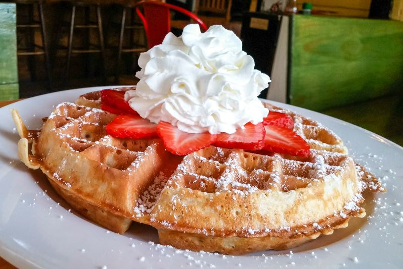 FILE PHOTO - Join members of the Boring-Damascus Grange for their annual Strawberry Waffle Breakfast on Sunday, June 10. Event is a benefit for the grange. See listing for location and times.