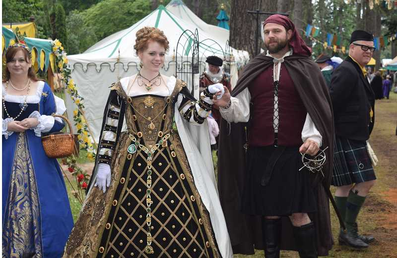 JOHN BAKER - Mary, Queen of Scots, will preside of this year's Oregon Renaissance Faire in Canby.