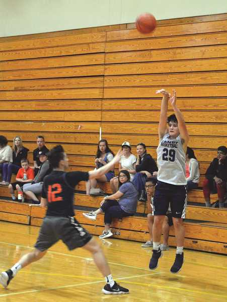 HERALD PHOTO: TANNER RUSS - Incoming sophomore Diego Arredondo is one of the returning varsity players to next years squad. The Cougars took part in a summer tournament over the weekend.
