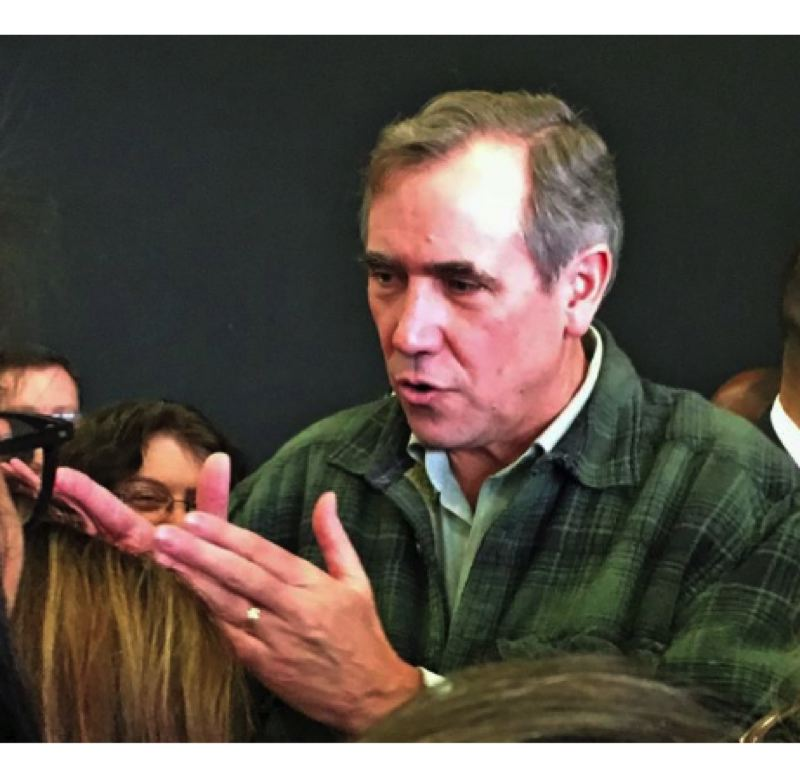 FILE PHOTO - U.S. Senator Jeff Merkley, D-Oregon