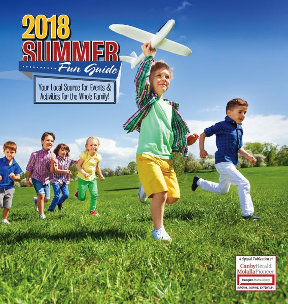 (Image is Clickable Link) Summer Fun Guide 2018  - Canby / Molalla