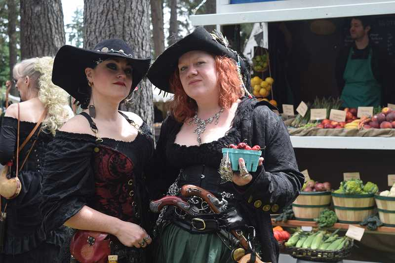 PIONEER PHOTO: JOHN BAKER - Oregon Renaissance Faire comes to Clackamas County Event Center June 9-10 and June 16-17.