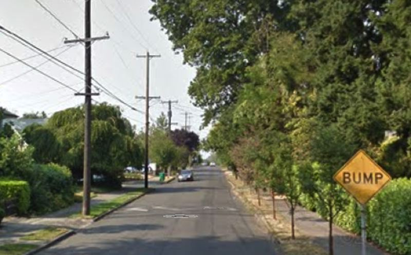 COURTESY GOOGLE - The 1100 block of 55th Avenue is shown here in this screenshot taken from Google Maps.