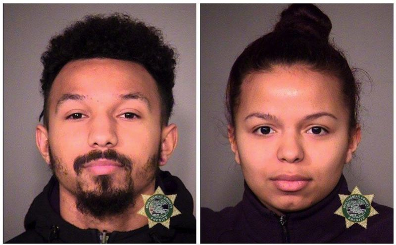 COURTESY MULTNOMAH COUNTY - Darian Lee McWoods and Diamond McWoods