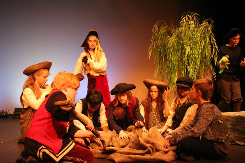 PHOTO COURTESY OF EASTSIDE THEATER - Treasure Island features Eastside Theaters young rising star actors.