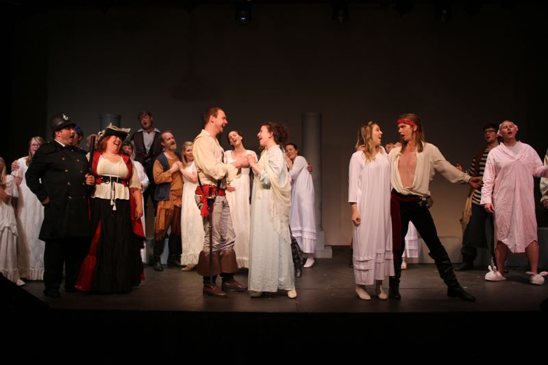 PHOTO COURTESY OF EASTSIDE THEATER - 'Pirates of Penzance,' Eastside Theaterss second June production, includes an all-ages cast.